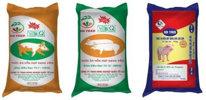 Animal feed woven bag in large quantities in HCM City